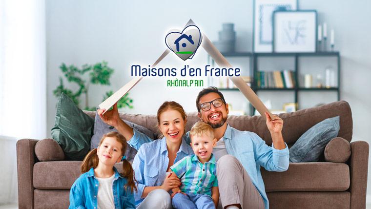 Maisons d'En France Rhônalp'Ain : maisons à vendre et maisons personnalisables dans les département de l'Ain (01) et départements voisins