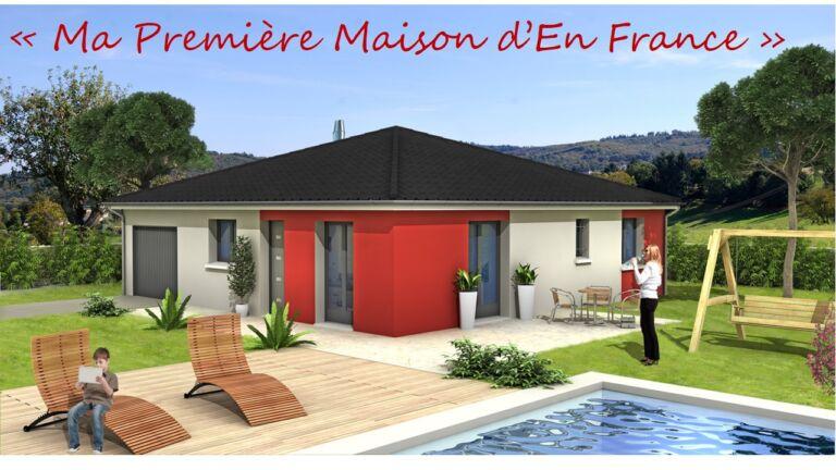 Photo 1 : ARBENT – Maison de plain-pied 4 chambres – 85m² - Maisons d'en France 01 Oyonnax