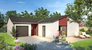 Maison à vendre : BEARD-GEOVREISSIAT - Maison de plain-pied 85m carres - 3 chambres, Maisons d'en France 01