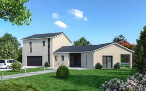 Maison à vendre : OYONNAX CENTRE - Maison contemporaine 4 pièces - 98m carres, Maisons d'en France 01