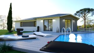 Maison à vendre : VIEU-D'IZENAVE – Jolie maison avec sous sol enterré – 105m carres, Maisons d'en France 01