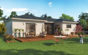 Maison à vendre : VIRY - Maison contemporaine 4 pièces – 100m carres, Maisons d'en France 01