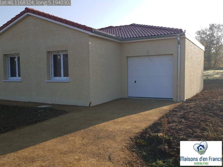 Photo 1 : Maison plain pied à Servas - Maisons d'en France 01 Oyonnax