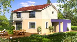 Modèle de maison personnalisable BBC 2, Maisons d'en France 01