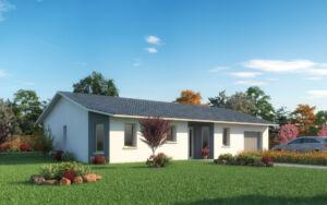 Modèle de maison personnalisable Bora Bora, Maisons d'en France 01
