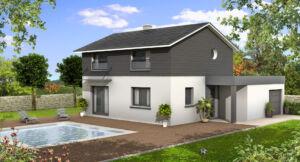 Modèle de maison personnalisable Canaria, Maisons d'en France 01