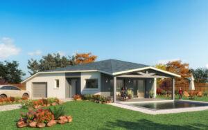 Modèle de maison personnalisable Coco Beach, Maisons d'en France 01