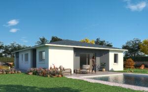 Modèle de maison personnalisable Copa cabana, Maisons d'en France 01