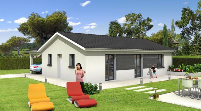 Photo 1 : FIRST - Maisons d'en France 01 Oyonnax