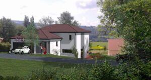 Modèle de maison personnalisable GOY, Maisons d'en France 01