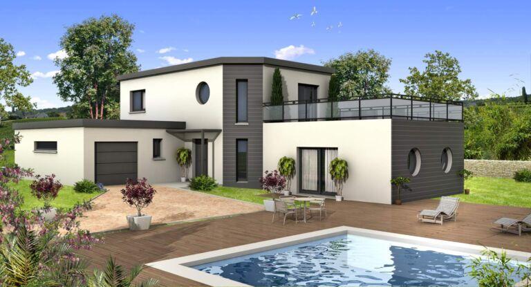 Photo 1 : La 155 m² - Maisons d'en France 01 Oyonnax