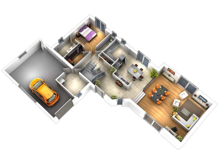 Photo 2 : La 155 m² - Maisons d'en France 01 Oyonnax