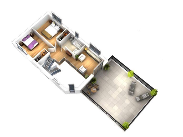 Photo 3 : La 155 m² - Maisons d'en France 01 Oyonnax