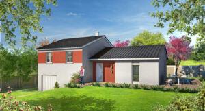 Modèle de maison personnalisable Muguet, Maisons d'en France 01