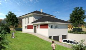 Modèle de maison personnalisable Quattro, Maisons d'en France 01