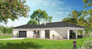 Modèle de maison personnalisable Saphir, Maisons d'en France 01