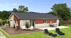 Modèle de maison personnalisable Uno, Maisons d'en France 01